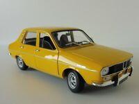 RENAULT 12 TS 1973 Gelb 1/18 Norev 185212 12TS R12 Dacia 1300