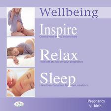 Pregnancy to Birth music  3CD pack.  Inspire Relax Sleep Mindfulness Music