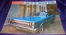 BS594 1967 AMC Ambassador Dealer Sales Brochure