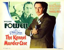 The Kennel Murder Case 1933 William Powell DVD