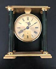 Vintage Kienzle Automatico Orologio da Tavolo anni '70 Design ottone - marmo