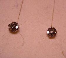 Champagne Diamond Stud Earrings  14 diamonds   .20tcw  MSRP$499