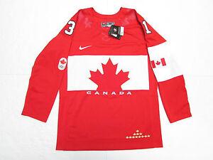 CAREY PRICE TEAM CANADA RED 2014 SOCHI OLYMPICS NIKE HOCKEY JERSEY
