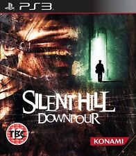 SILENT HILL DOWNPOUR PS3 PlayStation 3 Adventure Video Game UK Release Sealed