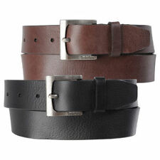 Timberland Mens 35Mm Classic Jean Belt Casual Belt Genuine Leather Black & Brown