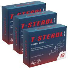 3x T-STEROL 600 - TESTOSTERON BOOSTER - ANABOL - MUSKELAUFBAU - POTENZ TESTO