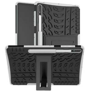 """For Samsung Galaxy Tab S7 plus 12.4"""" T970 Heavy Duty Stand Pen Slot Case Cover"""