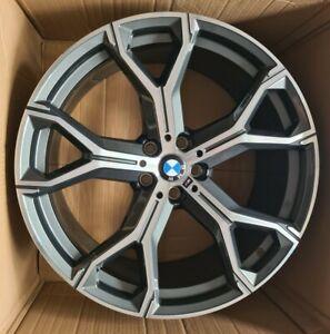 "21 Inch GENUINE Bmw X5 X6 G05/G06 21""Alloy Wheel Style 741 M 8071998  SINGLE"