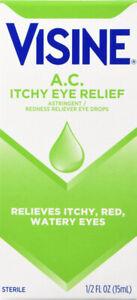 Visine Ac Allergy Red Relief Drop 0.5oz
