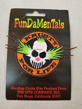 Krusty For Life Fundamentals Patch The Hits Company Van Nuys California 91411