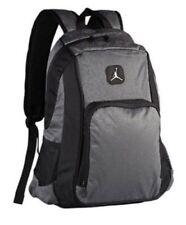 9b0d963bbd6f Nike Air Jordan Backpack Laptop Sleeves Side Pockets Dark Gray 9A1456-195