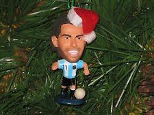 Carlos Tevez Custom Christmas Ornament (Argentina National kit)