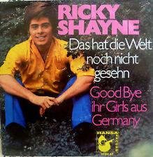 """7"""" 1969 MINT-? RICKY SHAYNE : Das hat die Welt noch nicht gesehn"""