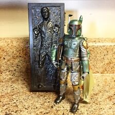 Hasbro Star Wars The Black Series 2-Pack! Carbonized Boba Fett w/ Solo Carbonite
