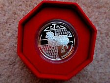 Singapore Mint Lunar Year of Goat 2015 $2 Silver Proof Coin Boxed 20g Ltd Ed COA