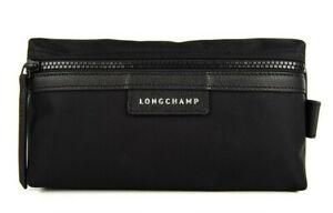 Longchamp Le Pliage Neo Cosmetic Case bag Nylon pouch ~NIP~ Black