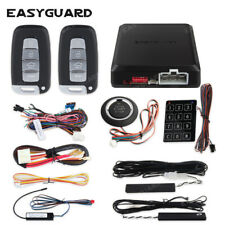 Easyguard remote auto start push button start stop pke car alarm security system