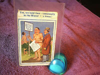 Saucy Seaside postcard by New Donald McGill Comics- Posted - FREE POSTAGE**