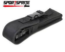 Pouch/Holster Black fit for 25x5x2.5cm tactical flashlight Fenix E50 Torch UK