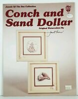 Cross Stitch Chart Conch and Sand Dollar Jewels of the Sea Collection