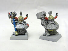 Warhammer Dwarf Anvil of Doom Guards  army lot metal oop