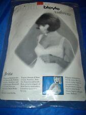 RAR Vintage Luxus Bleyle Unterhemd Chemise Gr. 42 weiß ungetragen OVP  (H392)