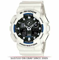 Casio GA100B/7A G-Shock Digital Watch│Chronometer│Anti-Magnetic│Waterproof│White