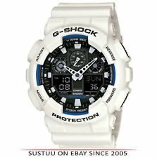 Reloj Digital Casio GA100B/7A G-shock Cronómetro │ │ │ │ Impermeable Anti-Magnético Blanco