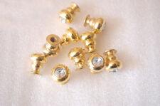 30PCS Small Diamond Knobs 11x13mm Jewelry wooden box, Miniature Box pull handle