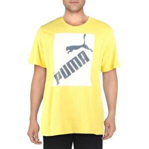 Puma Mens Yellow Fitness Workout Training T-Shirt XXL  1694