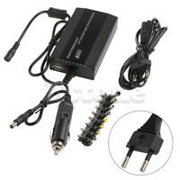 DC In Car Charger Notebook AC Adapter Power Supply Universal For Laptop 100W New