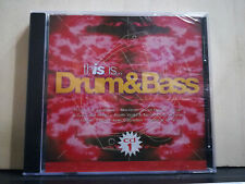 THIS IS ...DRUM & BASS - CD SIGILLATO CD 1 - JAMIROQUAI A.REECE COOL BREEZE 1997