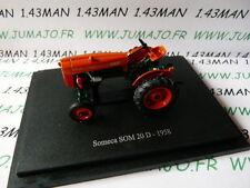 TR47 Tracteur 1/43 universal Hobbies n° 112 SOMECA SOM 20D 1958
