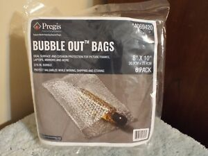"""Bubble Out Bags 8"""" X 10"""" 6 Pack"""