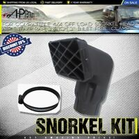 A-premium 4x4 Off Load Snorkel Head Air Intake Ram 3 inch 3'' Inlet Free Clamp