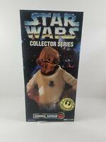 """Star Wars Collector Series Admiral Ackbar Rebel Alliance 12"""" Figure Kenner 1996"""
