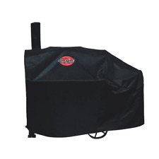Grill Cover Black Vinyl Heavy Duty Water Resistant Fits Char-Griller Model 8125