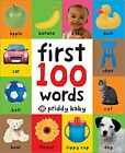 First 100 Words Board Book Softly Padded Learning Babies Toddler Bright Children