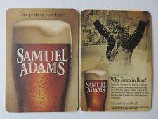 """Pub Coaster ~ Boston Beer SAMUEL ADAMS Chapter 9 """"Why Swim in Beer?"""" Jim Koch"""