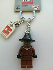 GENUINE LEGO THE SCARECROW FROM BATMAN MINIFIGURE KEYRING (GREY TAG)