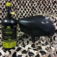 NEW Empire Invert Halo Too Paintball Hopper & 48/3000 Compressed Air Tank Combo