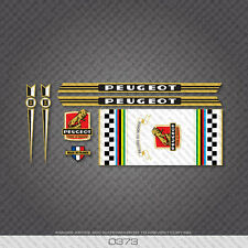 0373 Peugeot Bicycle Frame Stickers - Decals - Transfers