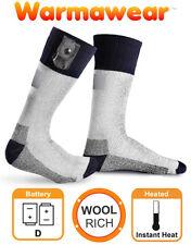 Warmawear Heated Socks Battery Powered Electric Winter Heat Mens Ladies Thermal Medium