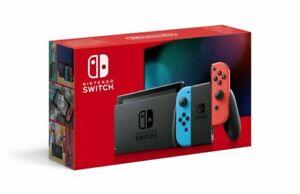 Nintendo Switch Neon Red Blue con Joy-Con Rosso e Blu - Console Portatile Casa