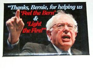 2016 BERNIE SANDERS campaign pin pinback button political presidential election