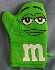 M&M Mars Candy Green Oven Mitt Glove NEW