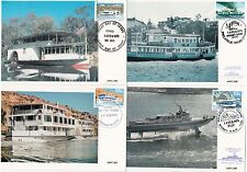 Australia Maxi Cards - 1979 Ferries Carried on Hydrofoil