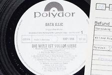 BATA ILLIC -Die Welt ist voller Liebe- LP 1970 Polydor Promo Archiv-Copy mint