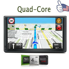 Android 4.4 Quad-Core Double 2Din Car Stereo GPS Player Bluetooth Radio 3G WiFi