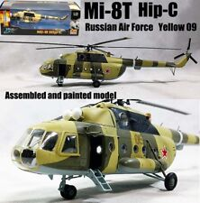 Mil Mi-8 hip helicopter Russian army aircraft non diecast 1/72 Easy model